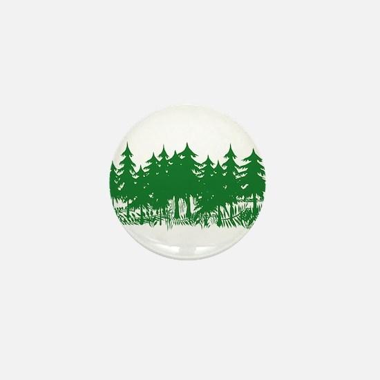 Trees Mini Button