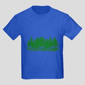Trees Kids Dark T-Shirt