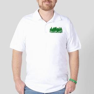 Trees Golf Shirt