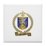TURGEON Family Crest Tile Coaster