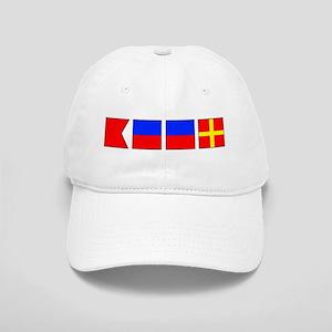 Nautical Flag Alphabet BEER Cap
