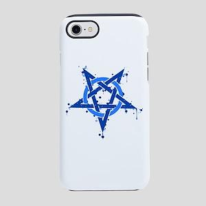 Blue Satanic Spotted Iphone 8/7 Tough Case