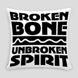 broken bone Everyday Pillow
