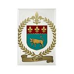 VACHON Family Crest Rectangle Magnet (100 pack)