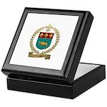 VACHON Family Crest Keepsake Box
