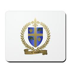 VALCOURT Family Crest Mousepad