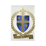 VALCOURT Family Crest Rectangle Magnet (100 pack)