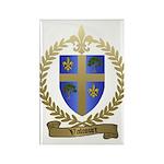 VALCOURT Family Crest Rectangle Magnet (10 pack)