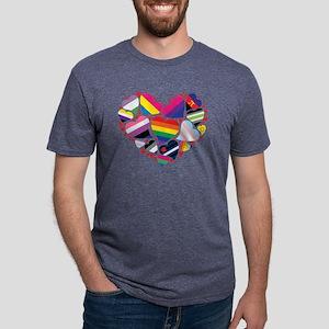 All Pride Heart Women's Dark T-Shirt