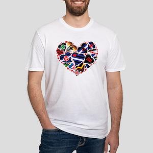 ALL PRIDE Heart / Fetish - Leather Communi T-Shirt