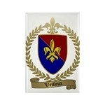 VEILLEUX Family Crest Rectangle Magnet (10 pack)