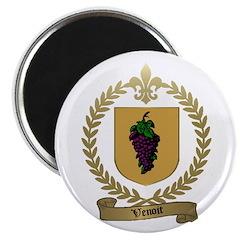 VENOIT Family Crest Magnet