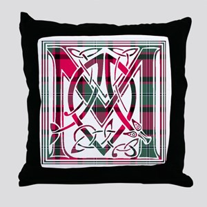 Monogram-MacPhail Throw Pillow