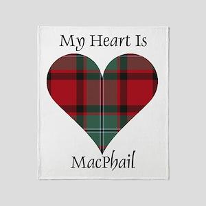 Heart-MacPhail Throw Blanket