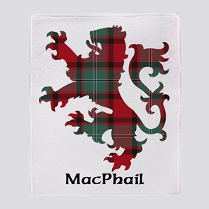 Lion-MacPhail Throw Blanket