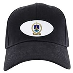 VILLERAY Family Crest Black Cap