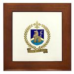 VILLERAY Family Crest Framed Tile