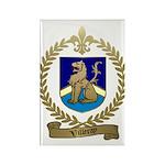 VILLERAY Family Crest Rectangle Magnet (100 pack)