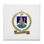 VILLERAY Family Crest Tile Coaster