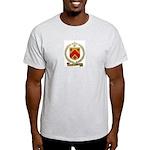 VINCENT Family Crest Ash Grey T-Shirt