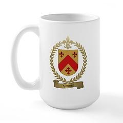 VINCENT Family Crest Large Mug