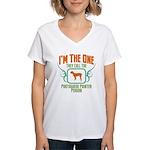 Portuguese Pointer Women's V-Neck T-Shirt