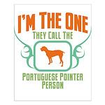 Portuguese Pointer Small Poster