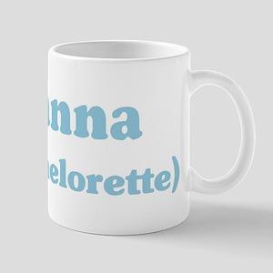Rosanna the bachelorette Mug