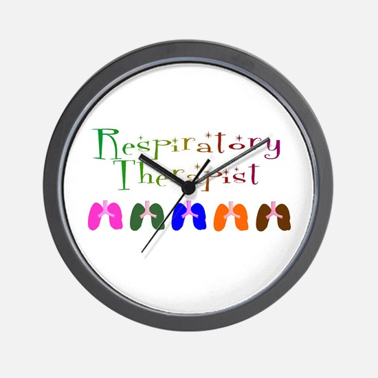 Cute Respiratory therapist Wall Clock