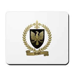 DAIGRE Family Crest Mousepad