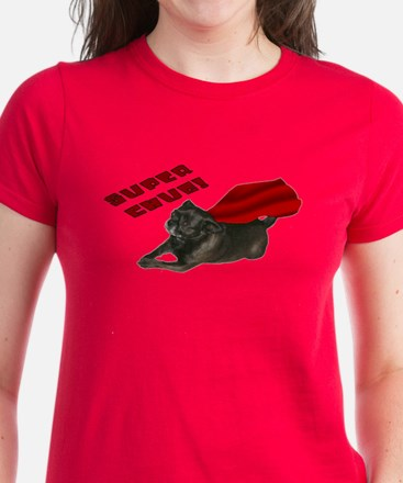 Chug, red: Women's Dark T-Shirt