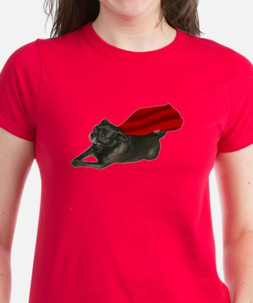 Chug Cape: Women's Dark T-Shirt