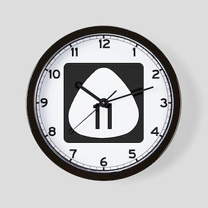 State Highway 11, Hawaii Wall Clock