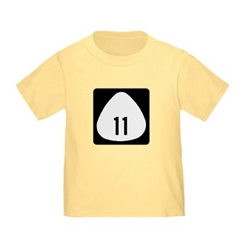 State Highway 11, Hawaii Toddler T-Shirt