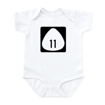 State Highway 11, Hawaii Infant Bodysuit