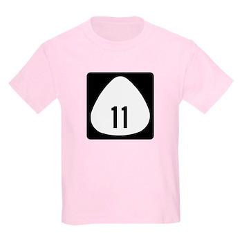 State Highway 11, Hawaii Kids Light T-Shirt