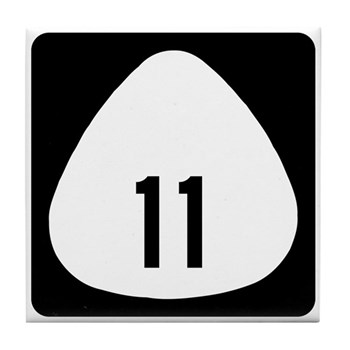 State Highway 11, Hawaii Tile Coaster