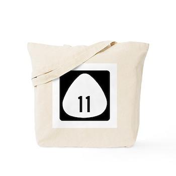 State Highway 11, Hawaii Tote Bag