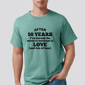50 Years Of Love And Beer T-Shirt