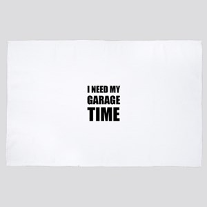 I Need My Garage Time 4' x 6' Rug