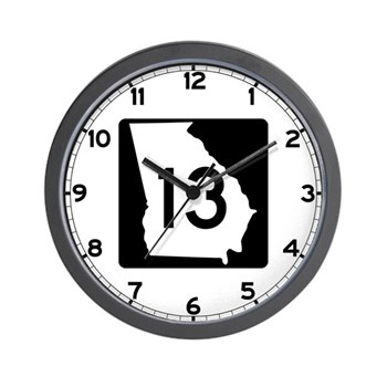 State Route 13, Georgia Wall Clock