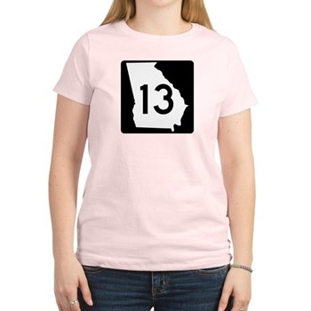State Route 13, Georgia Women's Light T-Shirt