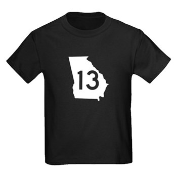 State Route 13, Georgia Kids Dark T-Shirt