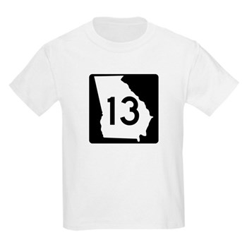 State Route 13, Georgia Kids Light T-Shirt