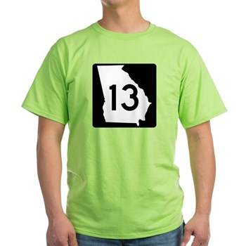 State Route 13, Georgia Light T-Shirt