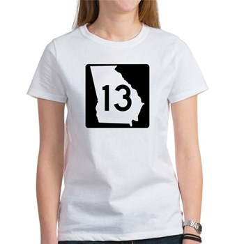 State Route 13, Georgia Women's T-Shirt