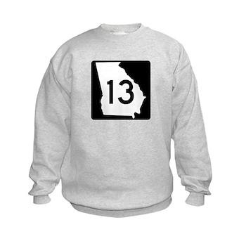 State Route 13, Georgia Kids Sweatshirt