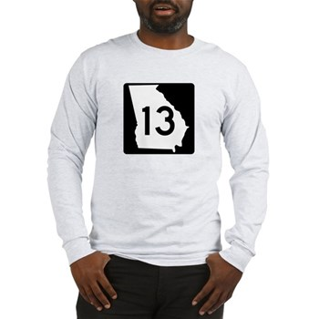 State Route 13, Georgia Long Sleeve T-Shirt