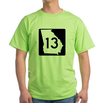State Route 13, Georgia Green T-Shirt