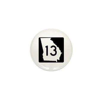 State Route 13, Georgia Mini Button
